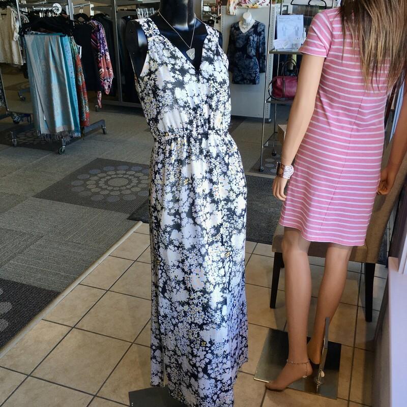 Club Monaco Dress, Colour: Multi, Size: 2 Fully lined