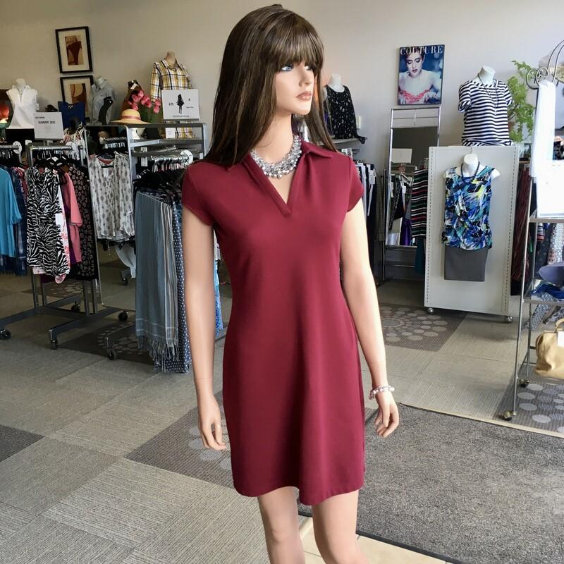 New York & Company, Colour: Maroon, Size: XSmall