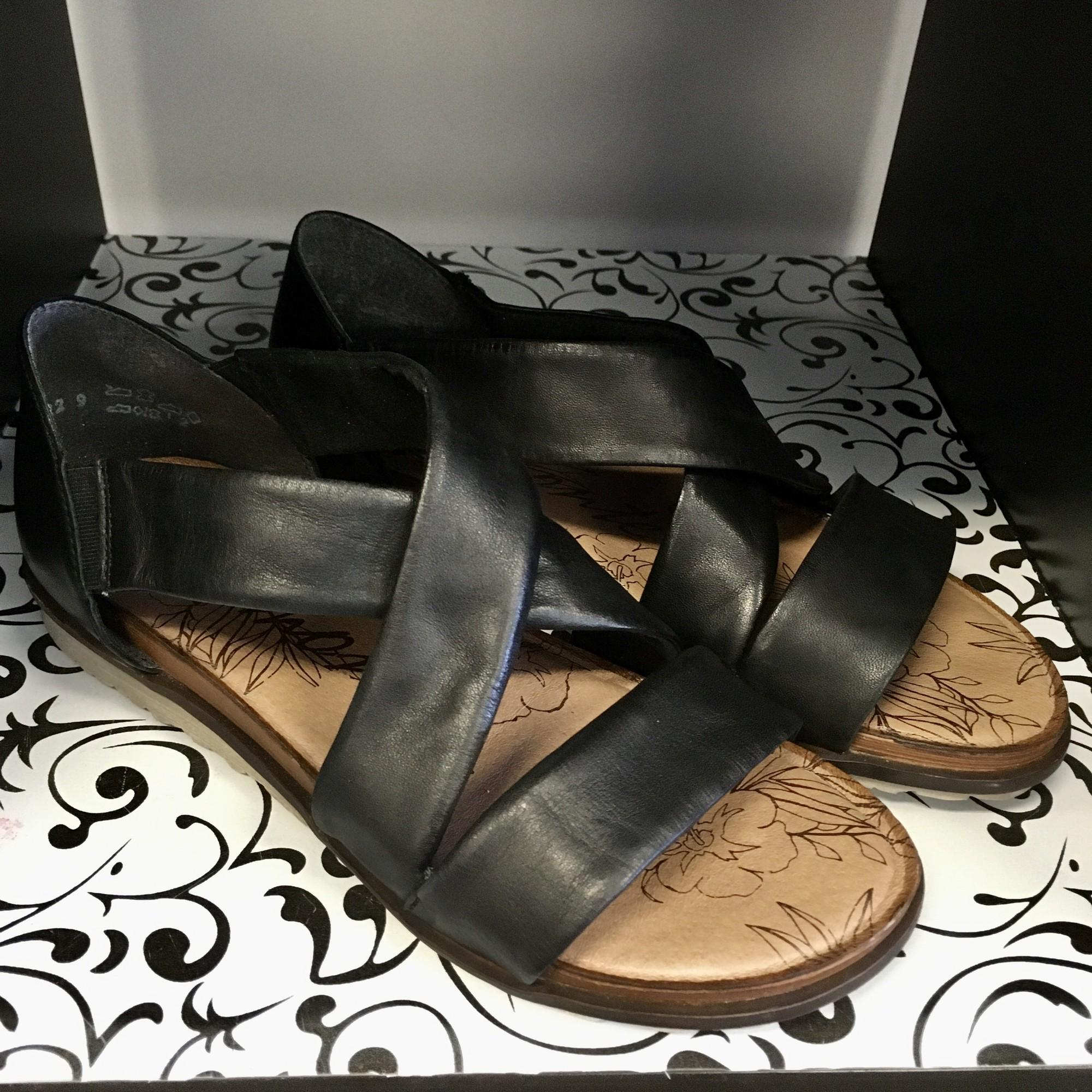Remonte LU Sandals,<br /> Colour:  Black,<br /> Size: 38  (7.5/ 8)