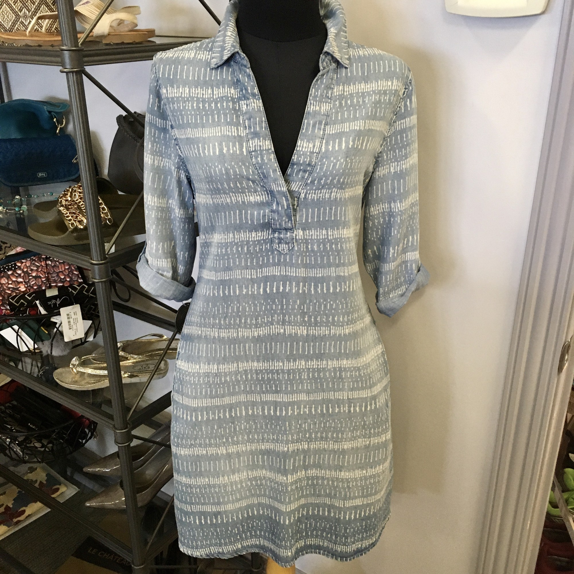 Dex Dress 100% Tencel,<br /> Colour: Washed Blue,<br /> Size: Small