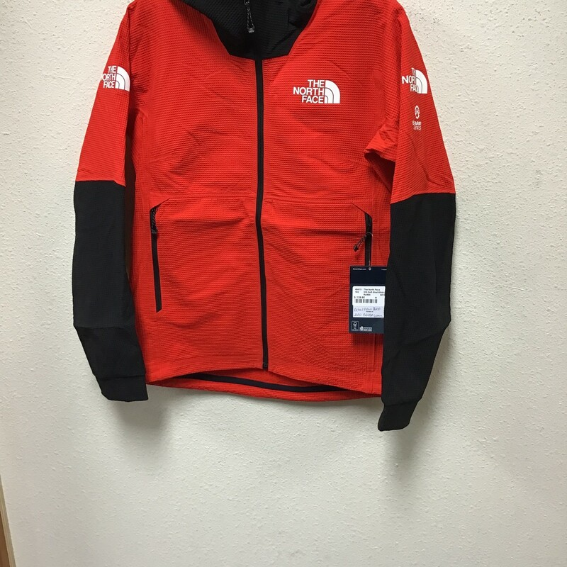 WN NorthFace Summit Series Soft Shell, Rd/Blk,     Size: M