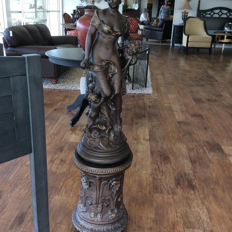 Women Statue W/Base