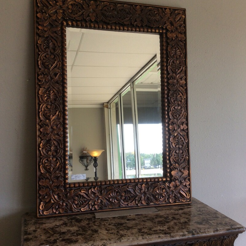 Composite Wood Mirror