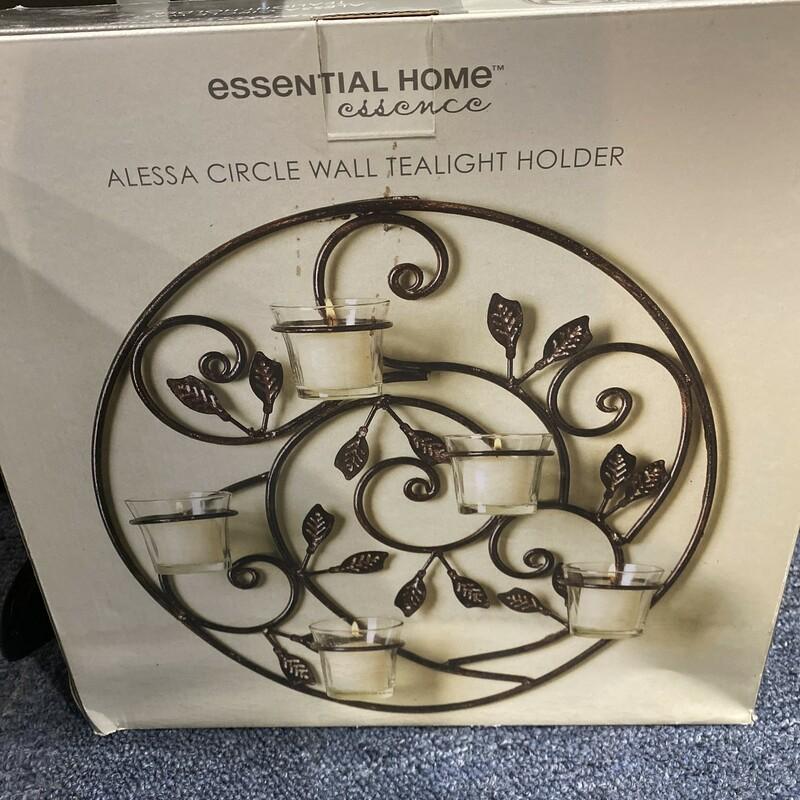 New Circle Wall Candle Holder