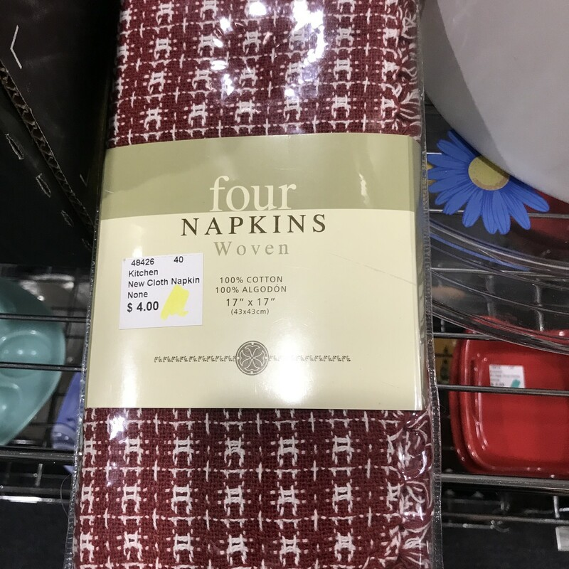 New Cloth Napkins