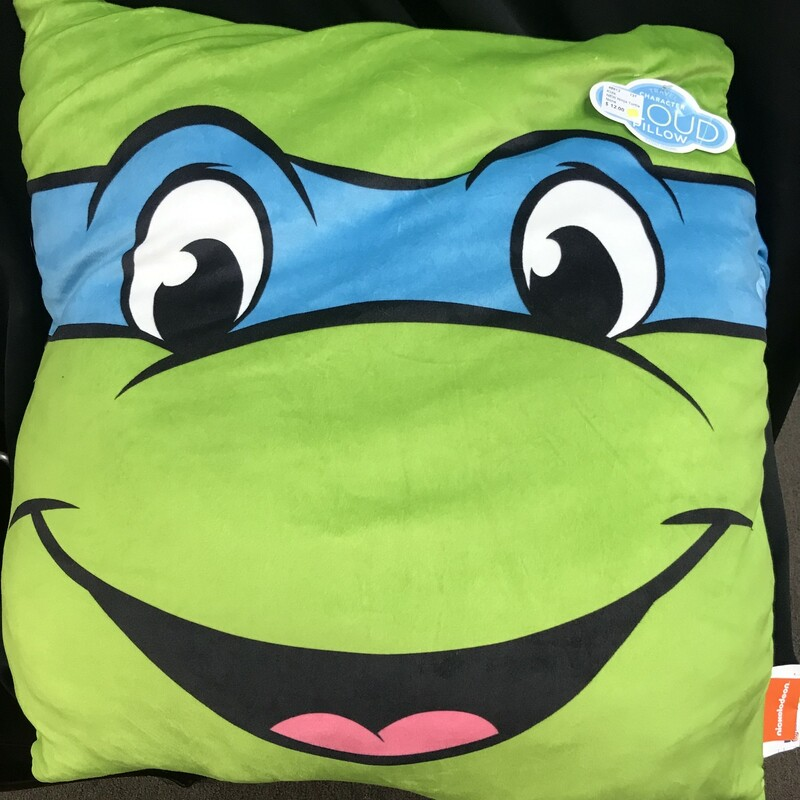 NEW Ninja Turtle Pillow