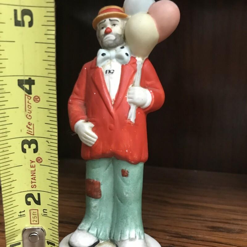 Flambro Clown Figure