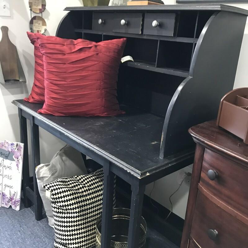 Large Black Desk