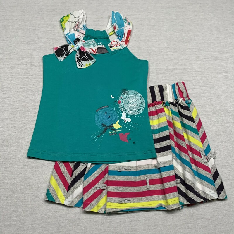New Knit Top & Skirt