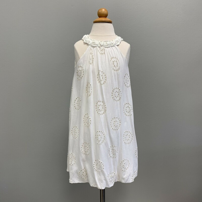 Knit Eyelet Dress