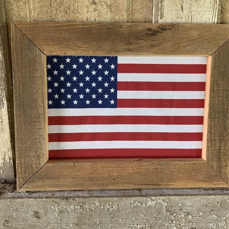 Framed Barnwood American