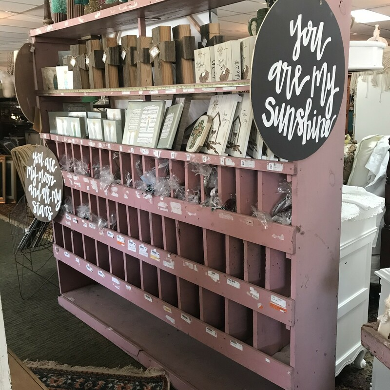 Vintage Pink Cubby Hole