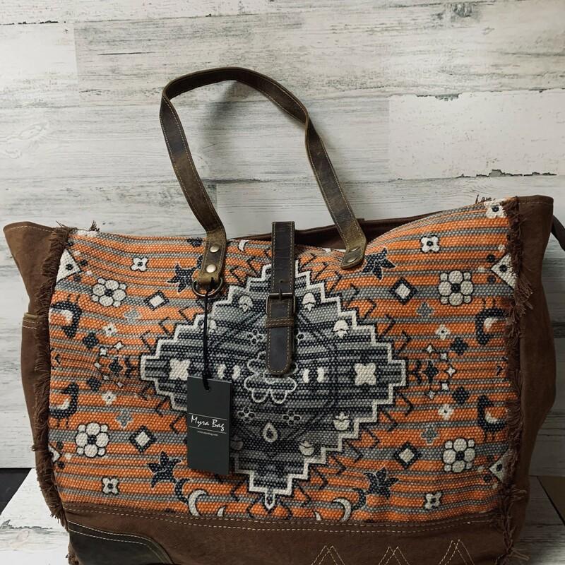 Rust Affair Weekender Bag