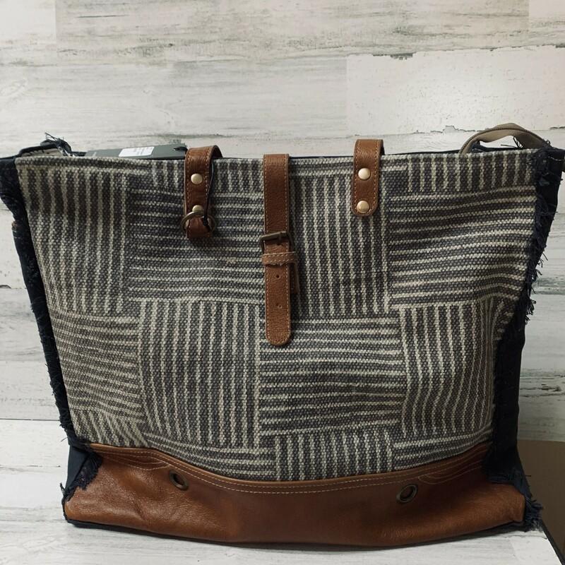 Puzzled Weekender Bag