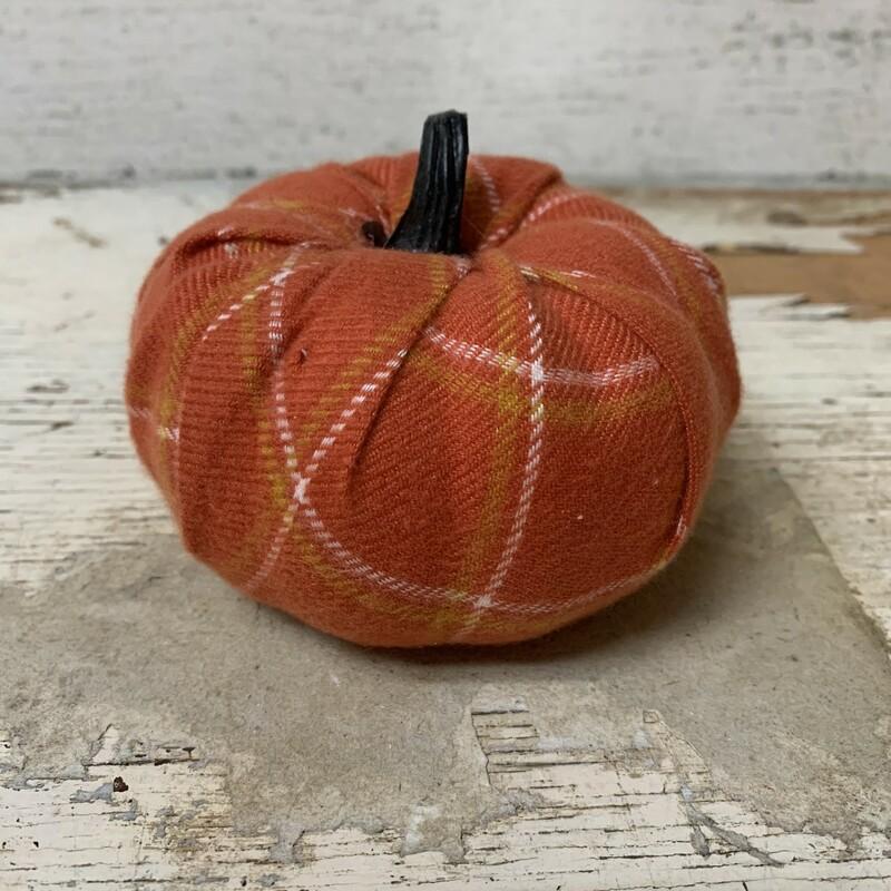 Plaid Flannel Pumpkin