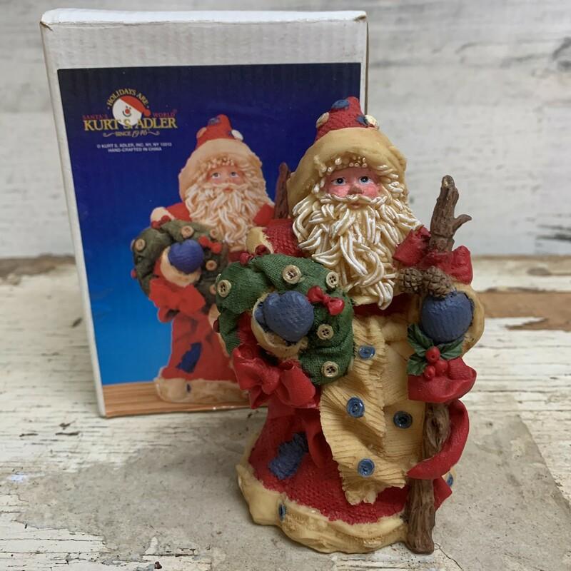 Kurt S Adler Santa Figuri
