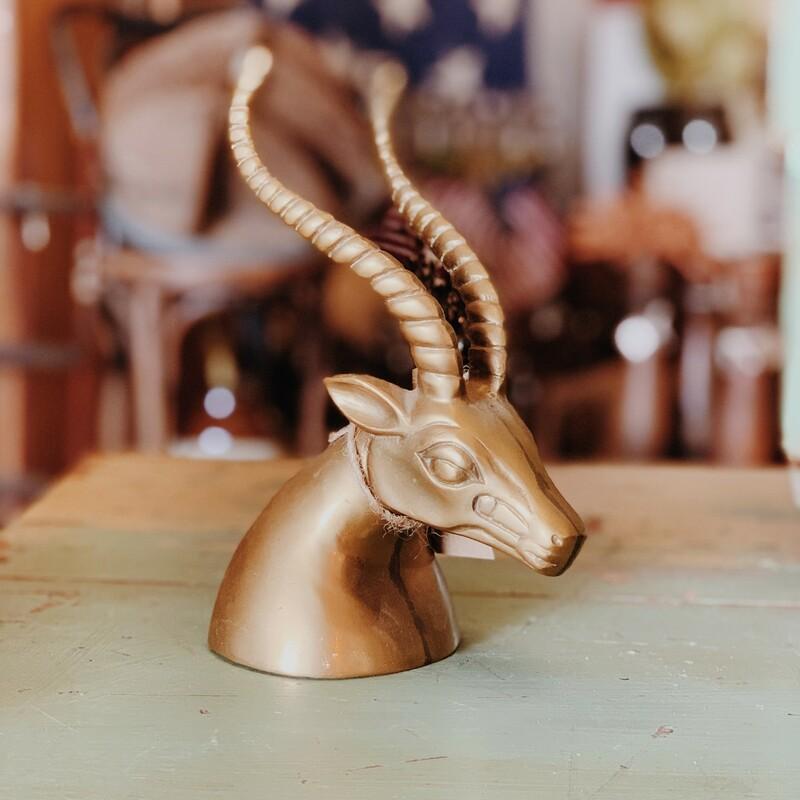 Brass Ram Head