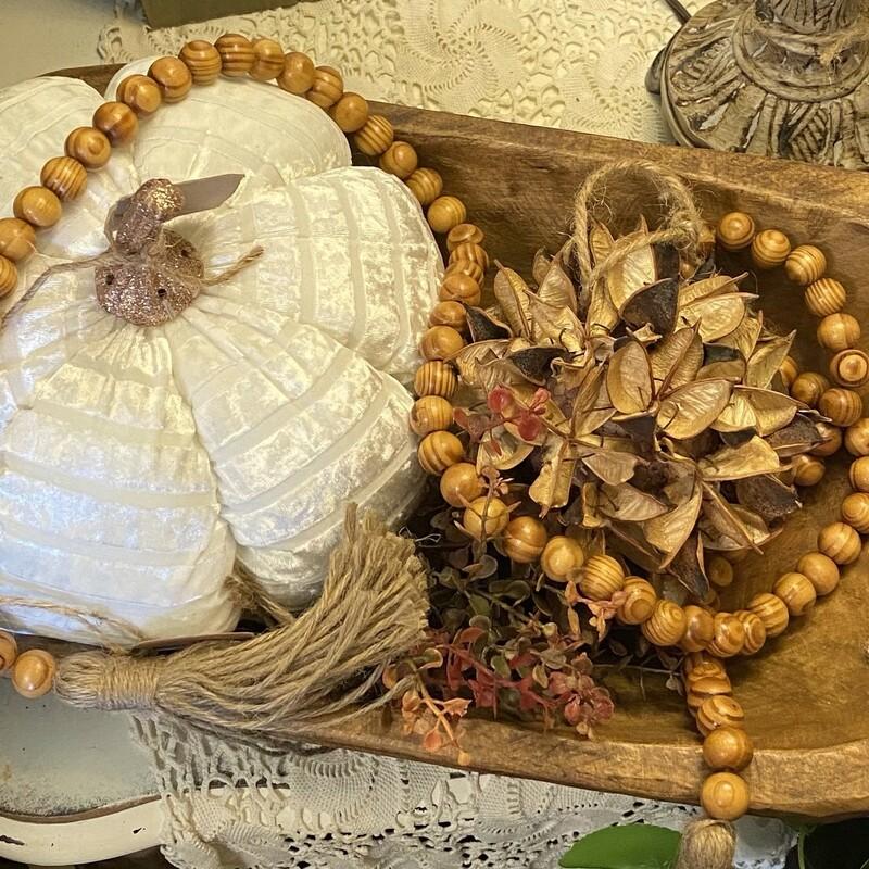 Natural Tassel Beads