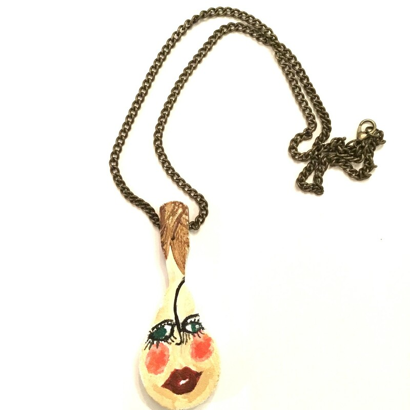 Hand Painted Funny Face P