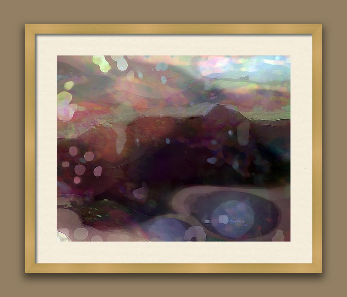 """IMAGINATION 290<br /> <br /> Signed Print..wood frame with white matting<br /> <br /> 21"""" x  25""""<br /> <br /> INSTORE PICK-UP OR SHIPPING"""