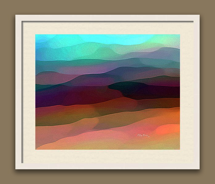 """IMAGINATION 68<br /> <br /> Signed Print..wood frame with white matting<br /> <br /> 21"""" x  25""""<br /> <br /> INSTORE PICK-UP OR SHIPPING"""