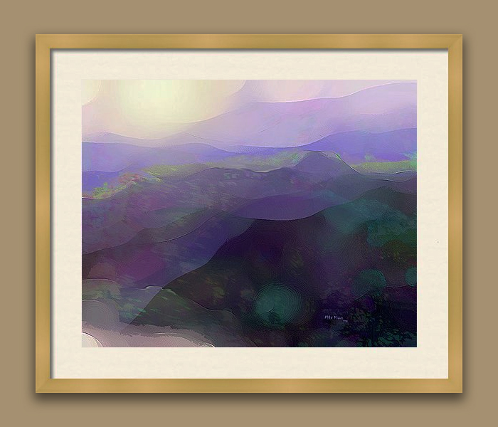 """IMAGINATION 287<br /> <br /> Signed Print..wood frame with white matting<br /> <br /> 21"""" x  25""""<br /> <br /> INSTORE PICK-UP OR SHIPPING"""