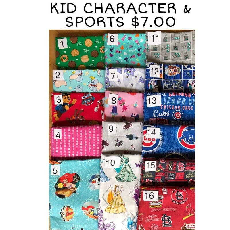 Kids-Character & Sports
