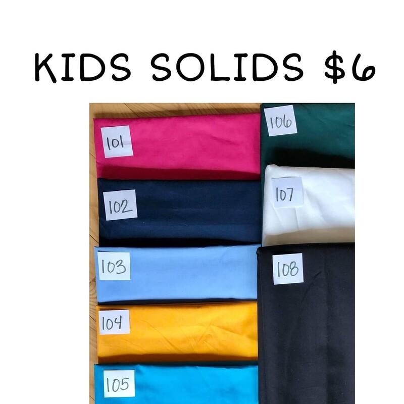 Kids Solids