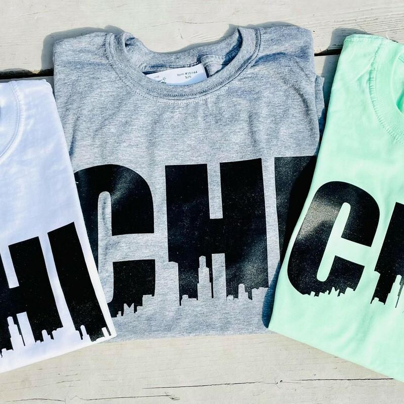 Doj Chi T-shirts Gry Adul