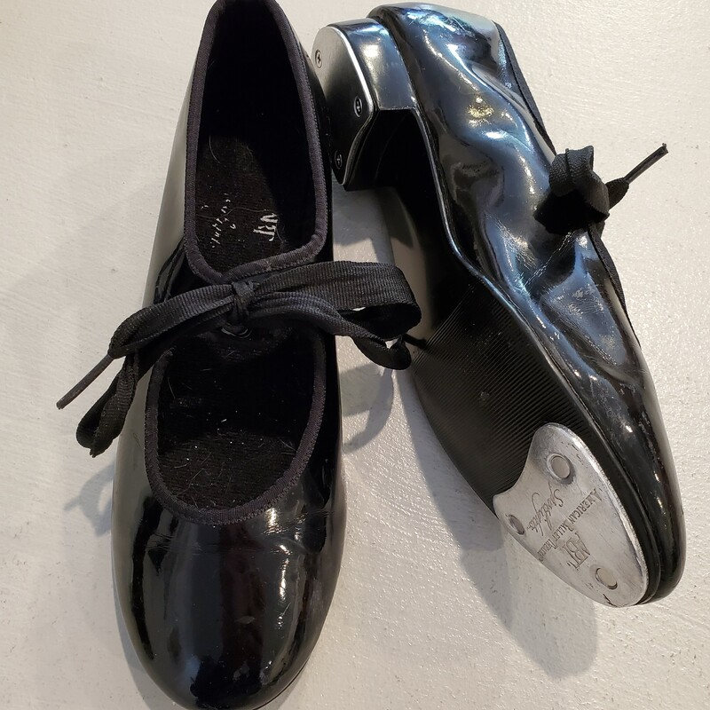 *Tap Shoe Black