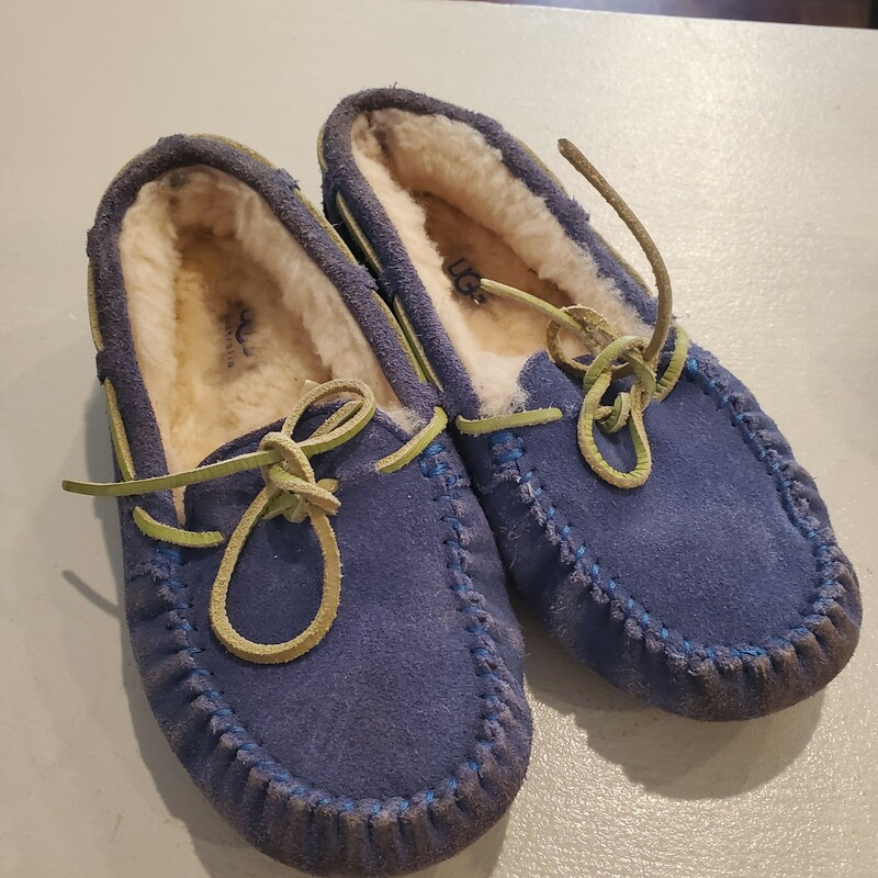 Ugg Slipper Blue, Size: 2
