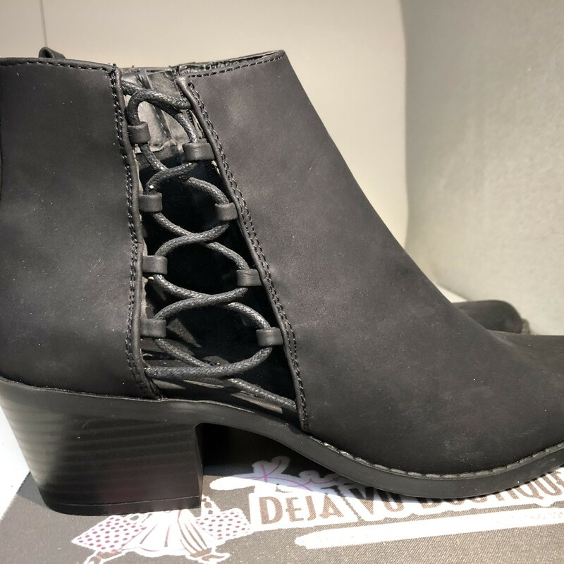 Open Side Boots