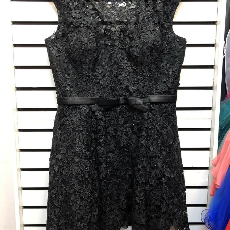 May Q Lace Short Dress