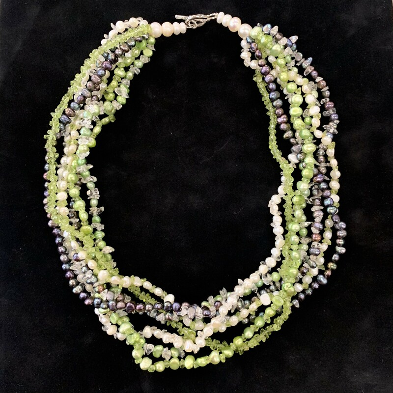 7 Strand Pearl Necklace