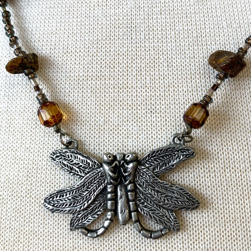 .925 Amber Necklace
