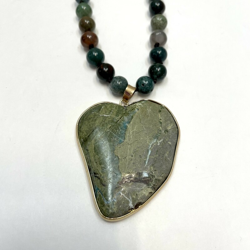 NEW Agate Bead Necklace
