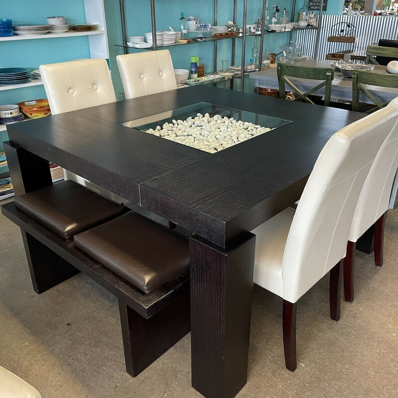 Square Wood Dining Table