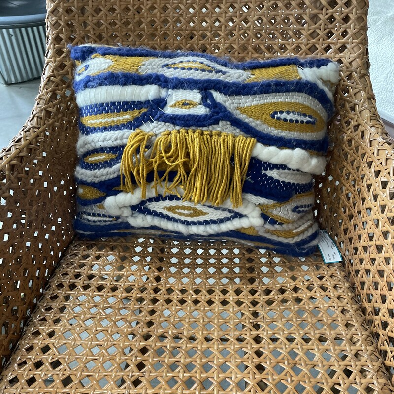 Hand Woven Pillow