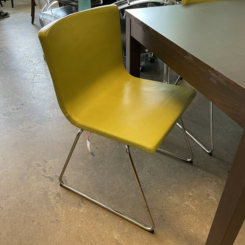 Ikea Green Leather Chairs