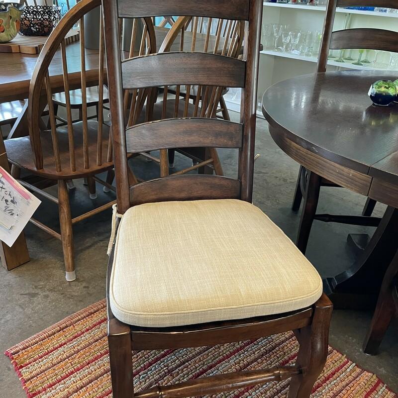 Pottery Barn Dining Chair, SetOf4, Size: LadderBack
