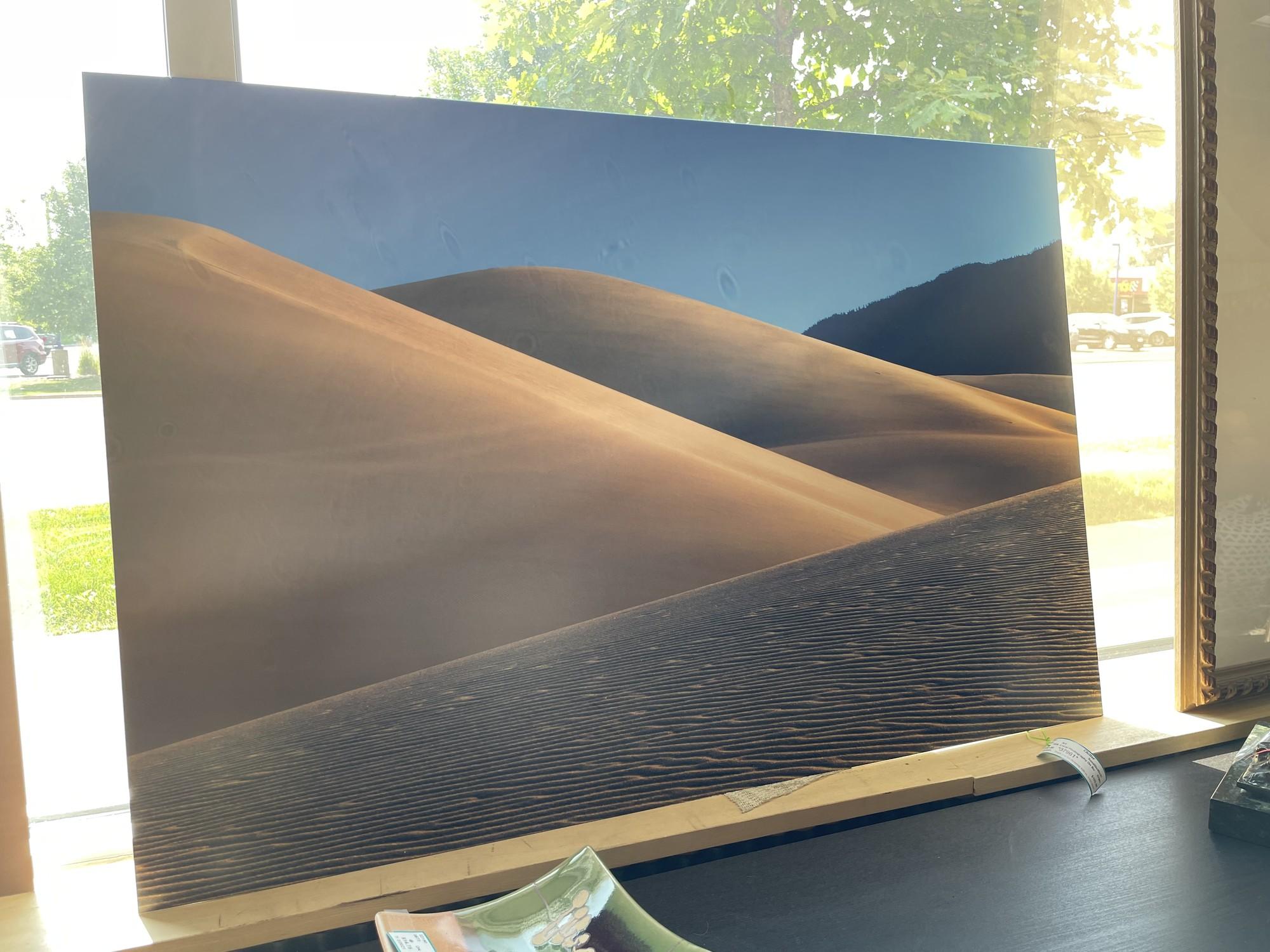 Local Photography On Boar, SandDune, Size: 40x27