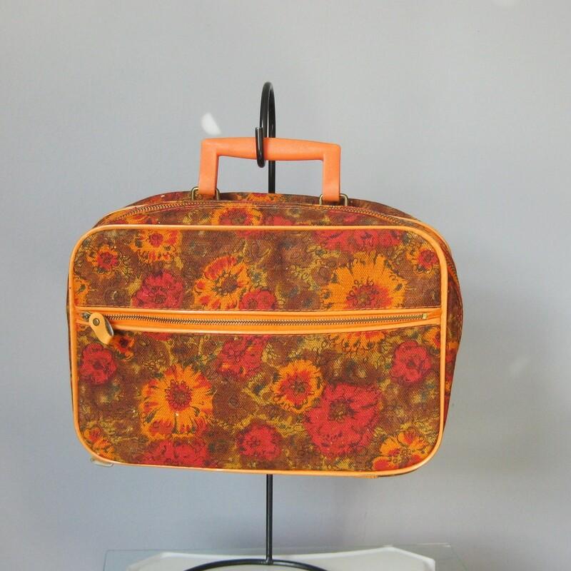 Vtg Mini Suitcase