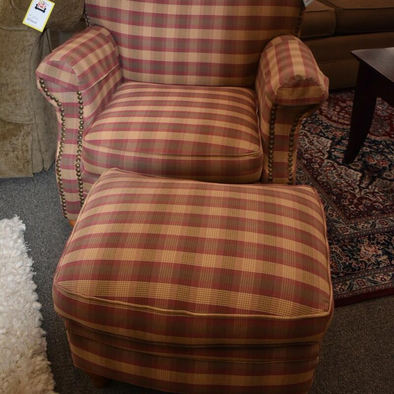 Rowe Chair+Ottoman
