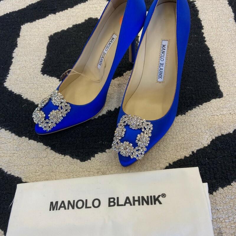 M.Blahnik Heel (faux)