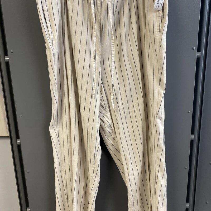 Linen Strp Pants