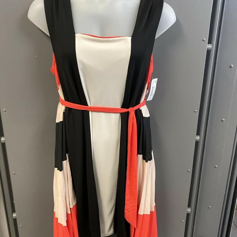 Slvless Dress Pltd Side