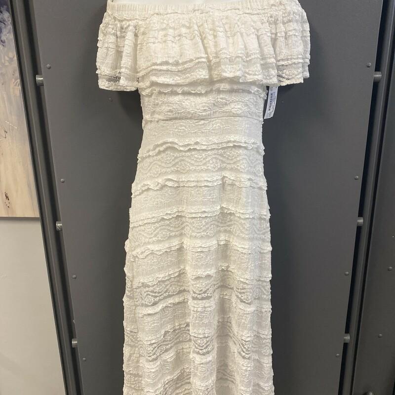 Ss Lace Midi Dress