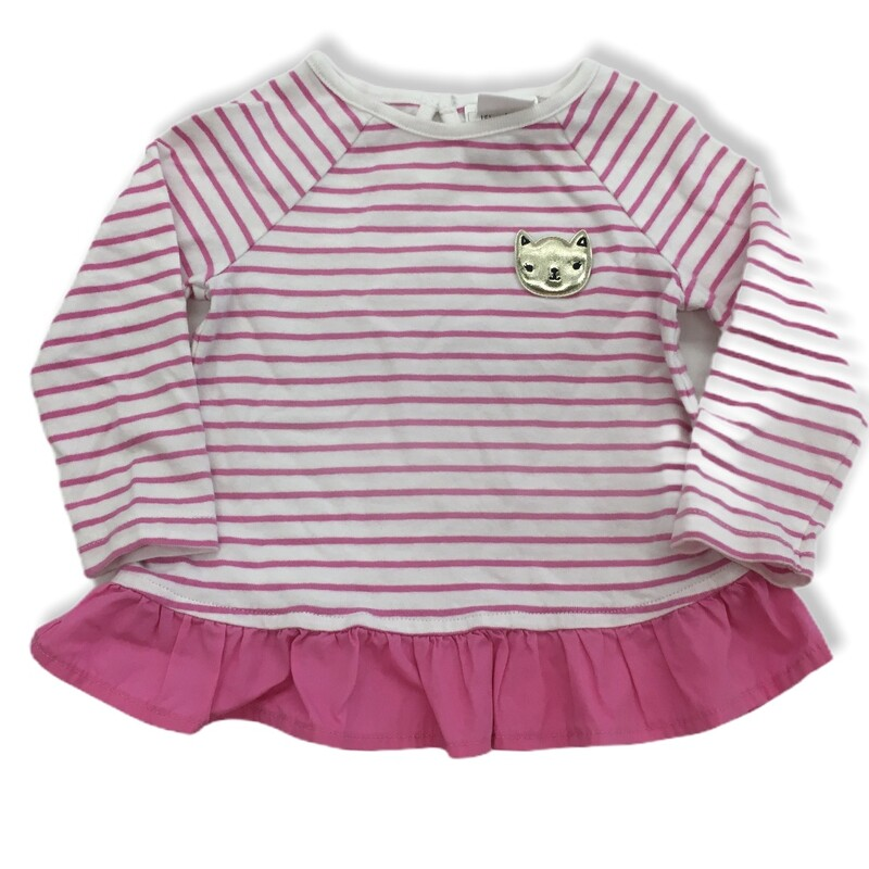 Long Sleeve Shirt, Girl, Size: 6/12m  #resalerocks #gymboree #pipsqueakresale #vancouverwa #portland #reusereducerecycle #fashiononabudget #chooseused #consignment #savemoney #shoplocal #weship #keepusopen #shoplocalonline #resale #resaleboutique #stripes #mommyandme #minime #fashion #reseller Cross posted, items are located at #PipsqueakResaleBoutique, payments accepted: cash, paypal & credit cards. Any flaws will be described in the comments. More pictures available with link above. Local pick up available at the #VancouverMall, tax will be added (not included in price), shipping available (not included in price), item can be placed on hold with communication, message with any questions. Join Pipsqueak Resale - Online to see all the new items! Follow us on IG @pipsqueakresale & Thanks for looking! Due to the nature of consignment, any known flaws will be described; ALL SHIPPED SALES ARE FINAL. All items are currently located inside Pipsqueak Resale Boutique as a store front items purchased on location before items are prepared for shipment will be refunded.