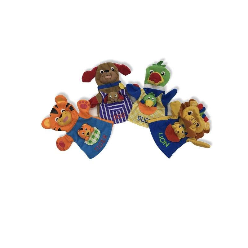 Puppets: 4pc Duck/Lion/Do