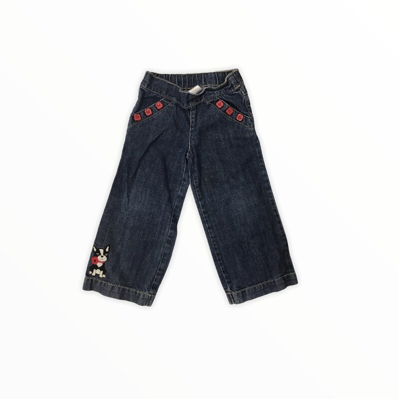 Jeans, Girl, Size: 3t  #resalerocks #gymboree #pipsqueakresale #vancouverwa #portland #reusereducerecycle #fashiononabudget #chooseused #consignment #savemoney #shoplocal #weship #keepusopen #shoplocalonline #resale #resaleboutique #mommyandme #minime #fashion #reseller                                                                                                                                                 Cross posted, items are located at #PipsqueakResaleBoutique, payments accepted: cash, paypal & credit cards. Any flaws will be described in the comments. More pictures available with link above. Local pick up available at the #VancouverMall, tax will be added (not included in price), shipping available (not included in price), item can be placed on hold with communication, message with any questions. Join Pipsqueak Resale - Online to see all the new items! Follow us on IG @pipsqueakresale & Thanks for looking! Due to the nature of consignment, any known flaws will be described; ALL SHIPPED SALES ARE FINAL. All items are currently located inside Pipsqueak Resale Boutique as a store front items purchased on location before items are prepared for shipment will be refunded.